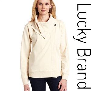 4x$20Lucky brand ivory cardigan sweater size Large